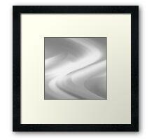 DREAM PATH (Grays & White)-(9000 x 9000 px) Framed Print