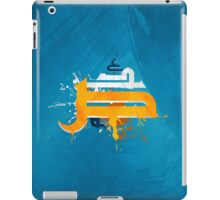 arabic letters caligraphy asbstract graffiti grunge iPad Case/Skin