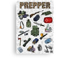 Prepper Canvas Print