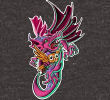 Dragon and Owl  Unisex T-Shirt