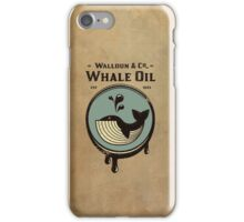 Walldun & Co Whale Oil iPhone Case/Skin