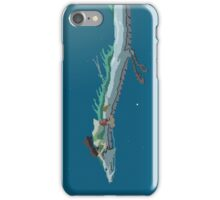 Spirited Away Pixel Art -  Chihiro and Haku iPhone Case/Skin