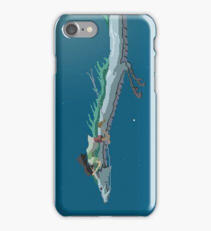 Spirited Away Pixel Art -  Chihiro and Haku iPhone Case/Skin