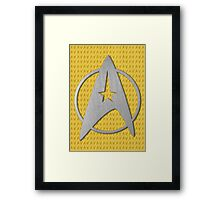 Starfleet - Star Trek Framed Print