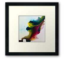 Fluid Motion 2 Designer Artwork  Framed Print
