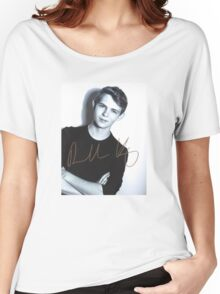Robbie Kay autograph Women's Relaxed Fit T-Shirt