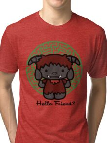 Hello Friend Tri-blend T-Shirt