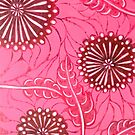 Abstract Flower Painting by trossi