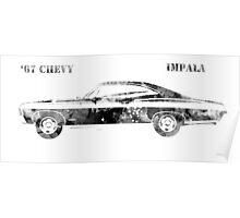 67 Chevy Impala Poster