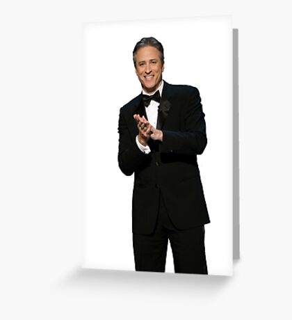The Daily Show with Jon Stewart Greeting Card