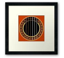 Flamenco Folk Music Framed Print