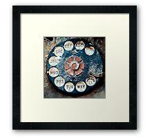 Rotary Dial Framed Print