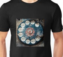 Rotary Dial Unisex T-Shirt