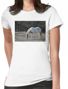 Horse Plains Womens Fitted T-Shirt