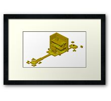 Isometric Zone 0 - OFF Framed Print