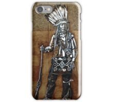 Indian with Rifle and Arrow iPhone Case/Skin