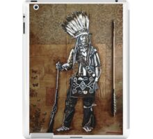 Indian with Rifle and Arrow iPad Case/Skin