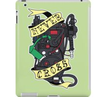 Never Cross iPad Case/Skin