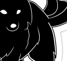 Black Fox Sticker