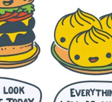 Confort Food Sticker