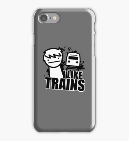 I Like Trains - asdfmovie iPhone Case/Skin