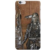 Indian with spear iPhone Case/Skin