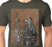 Indian with spear Unisex T-Shirt