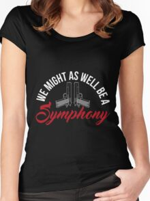 Shoot: Symphony Women's Fitted Scoop T-Shirt
