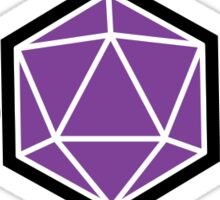Praise the RNG - Why not Purple? Sticker