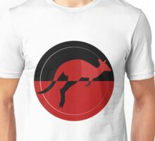Red Kangaroo Unisex T-Shirt
