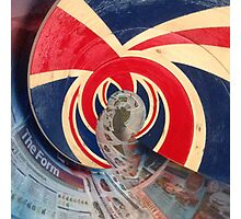 British Wave! God save the sea! Photographic Print