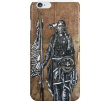 Native American with Spear iPhone Case/Skin