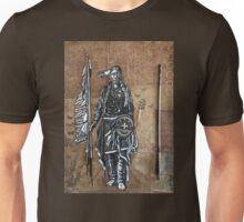 Native American with Spear Unisex T-Shirt