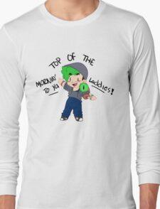 Jacksepticeye - Top Of The Mornin' To Ya Laddies! Long Sleeve T-Shirt