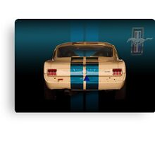 Shelby rear end Canvas Print