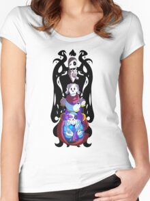 No Evil Women's Fitted Scoop T-Shirt