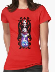 No Evil Womens Fitted T-Shirt