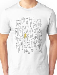 Tooth or Dare, Bold Illustration Unisex T-Shirt