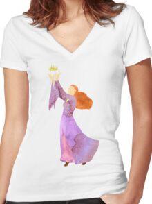 The Blood of Winterfell - Sansa Stark Women's Fitted V-Neck T-Shirt