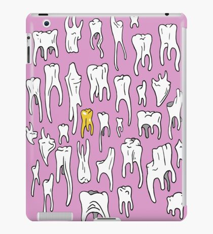 Tooth or Dare, Bold Illustration iPad Case/Skin