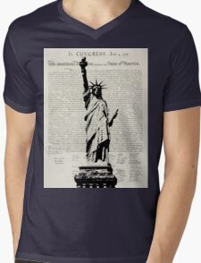 United We Stand Mens V-Neck T-Shirt