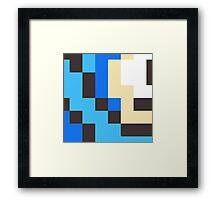 The Rockman Framed Print
