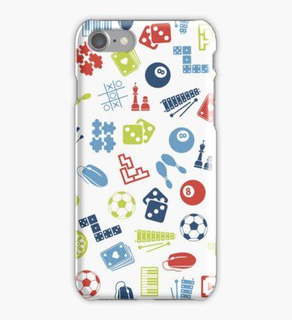 Games Pattern iPhone Case/Skin
