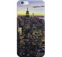New York City Skyline - NYC - Night iPhone Case/Skin