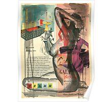Gala Nude Poster
