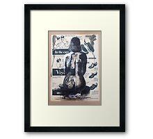 Vintage Nude Framed Print