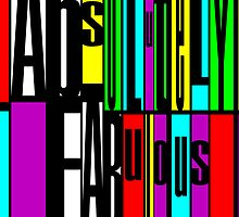 Absolutely Fabulous 2012 Design by Ged J