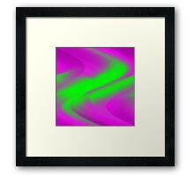 DREAM PATH (Purples & Greens)-(9000 x 9000 px) Framed Print