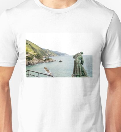 St Peter looks over the Mediterranean Unisex T-Shirt