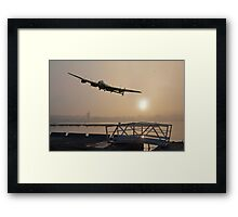 The Dambusters: last one home Framed Print